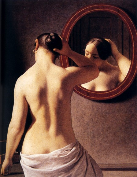 espalda-mujer- Christoffer-Wilhelm. Fuente: Blog pinturayartistas.com